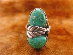 Ring  Size 5 1/4  Sterling Silver  Native by Worldwideoddities, $32.95