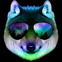 Night Wolf is a T Shirt designed by clingcling to illustrate your life and is available at Design By Humans