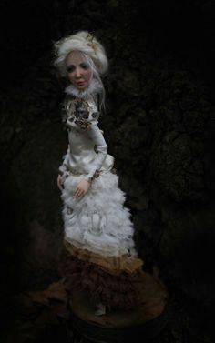 ''Papillon'' by Romantic Wonders Dolls Ooak Dolls, Art Dolls, Handicraft, Game Of Thrones Characters, Romantic, Handmade, Fictional Characters, Decor, Butterflies
