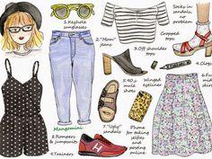 As ilustrações de Cindy Mangomini - Without Romeo