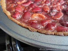 Chocolate Cherry Pie   Civilized Caveman Cooking Creations (Gluten Free..Dairy Free..Preservative Free)