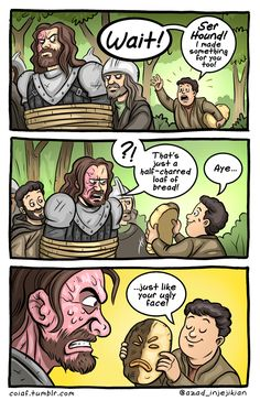 Check out these amazing Game of Thrones comics that are prepared for Game of Thrones Season 8 by Azad-Injejikian. These are really hilarious. Game Of Thrones Comic, Game Of Thrones Meme, Got Memes, Funny Memes, Hilarious, Sci Fi Comics, Funny Comics, Best Diy Halloween Costumes, Silly Songs