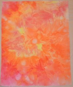 Hand dyed cross stitch fabric