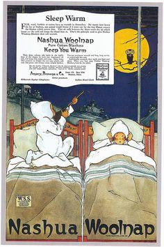 Nashua Woolnap Blankets, 1918 - Marjory C. Woodbury