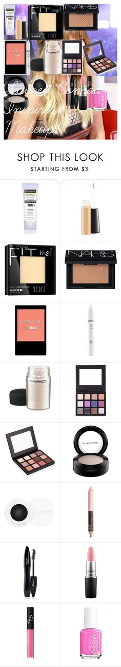Lauren Conrad Inspired Makeup! ♡ by oroartye-1 on Polyvore featuring beauty, NARS Cosmetics, Sigma, Lancôme, MAC Cosmetics, NYX, Maybelline, Wet n Wild, Essie and Lauren Conrad