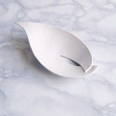 LILY leaf soap dish white porcelain ceramic bathroom accessory