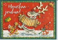 """Merry Christmas"" in finnish Mauri Kunnas, Finland"