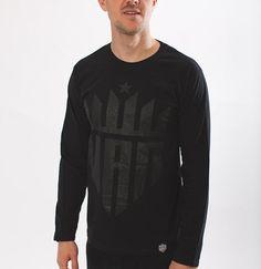 Billy black on black. Last few remaining. | http://ift.tt/1i1tCZ0  #TeamUAN #UpAllNight  #fashion #trend #tshirt #print #streetwear #design #style #model #black #logo #streetstyle #retro #clothingline #clothing