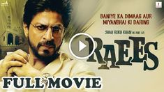 Raees: Filmmakers plan a grand trailer launch in nine big cities Download Free Movies Online, Free Movie Downloads, Shahrukh Khan, Raees Srk, Ok Jaanu Movie, Bollywood Movies 2017, Movie Releases, Hindi Movies, Watches Online