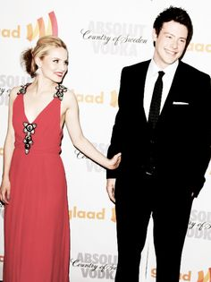 Dianna and Cory ♥ Cory Glee, Glee Cory Monteith, Glee Cast, It Cast, Dianna Agron, Grant Gustin, Still Love You, Backstage, Harry Potter