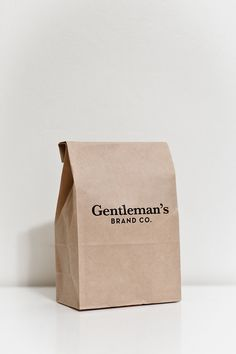 Simple, timeless package design.