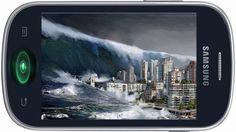 Fajny dzwonek na telefon komórkowy - Tsunami