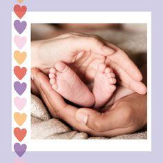 Babykarte mit Herz