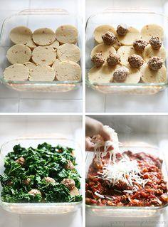 Baked Polenta and Vegetable Parmesan {Gluten Free} from @Marina YummyMummyKitchen