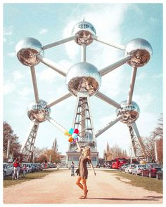 """visit brussels on Instagram: """"Hey @craigmwilliams ...could you take a picture of me and my balloons please ? 🎈 Regramed from 📷 @emilyapfel  @atomium.official #atomium…"""" Brussels Belgium, Top Travel Destinations, Antwerp, Weekend Vibes, Tour Guide, Travel Guides, Take That, Europe, Tours"""