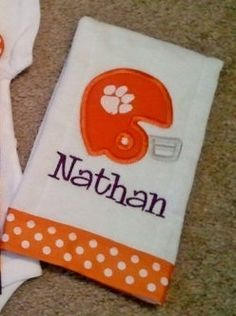 Image result for clemson football baby boy
