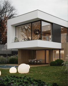 39 Ideas Exterior Architecture Minimalist Home For 2019 Modern Exterior, Exterior Design, Modern Mansion, Concrete Design, Dream House Exterior, House Goals, Minimalist Home, Modern House Design, Loft Design