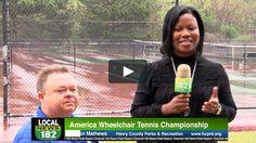Check out this #news segment on America Wheelchair Tennis Championship.     #sports #community #tennis #wheelchairtennis #LTARadio #news