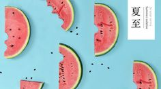 """Check out this @Behance project: """"WATERMELON"""" https://www.behance.net/gallery/38583219/WATERMELON"""