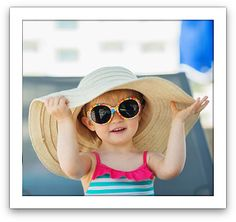Great tips on what to look for when buying sunglasses for your kids.