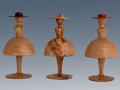 """""""Wooden Ladies"""" - olive wood"""