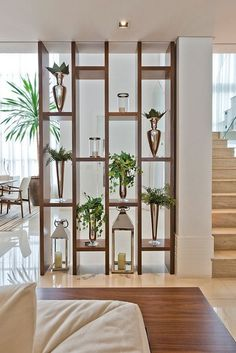 39 Mid Century Modern Living Room Ideas – Seating and Furniture Groups Living Room Modern, House Interior, Living Room Divider, Living Room Partition Design, Mid Century Modern Living Room, House Interior Decor, Living Room Design Modern, Living Design, Living Room Designs