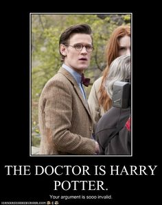 Who But a Wizard Would Wear Those Specs? I wonder if JK meet the Doctor then thought I wonder what he was like as a kid