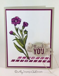 Gorgeous flower coloring with Blendabilities using the Butterfly Basics Stamp Set by Stampin' Up!