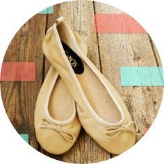 Cinnamon Shoes - Ltd Ed. Ballet Pumps for Chic Ladies