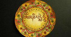 Mandala om mani padme um Elo Art Mandala - Artiste, créatrice de Mandalas.