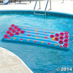 Inflatable Pool Drink Drop Game - Oriental Trading