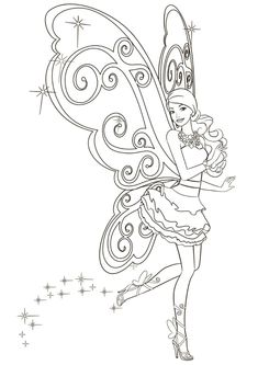 Barbie coloring pages, Mariposa fairy. Barbie Coloring Pages, Disney Princess Coloring Pages, Disney Princess Colors, Mermaid Coloring Pages, Coloring Pages For Girls, Disney Colors, Cute Coloring Pages, Cartoon Coloring Pages, Coloring Pages To Print