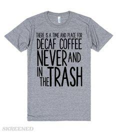 DECAF COFFEE | DECAF COFFEE IS GROSS #Skreened