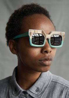 3c61abfe7817 Karen Walker Casts Kenyan Artisans in Awesome Spring Eyewear Campaign