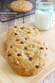 Best Darn Gluten Free Chocolate Chip Cookie (egg free Vegan dairy free) The BEST chocolate chip cookie ever.