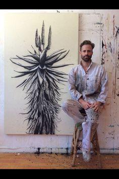 Kurt Pio | Charcoal Aloes