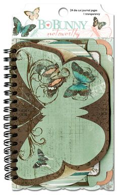 Bo Bunny - Gabrielle Collection - Note Worthy Journaling Cards - Gabrielle at Scrapbook.com