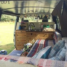 Awesome Camper Van Interior Ideas That'll Inspire You To Hit The Road Top Camper Van Conversions Thatll Inspire You To Hit. Awesome Camper Van Interior Ideas That'll Inspire You To Hit The Road Camper Van Conversions Diy 43 Mobmasker. Camping Vans, Camping Diy, Camping Guide, Camping 2017, Camping Store, Beach Camping, Best Travel Trailers, Travel Trailer Camping, Wolkswagen Van