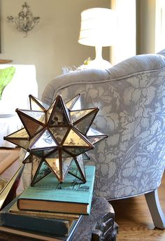 Stenciled upholstery tutorial