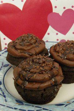 Triple Chocolate Cupcakes*