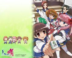 Saki; anime about Mahjong