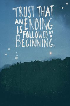 new beginnings #hope