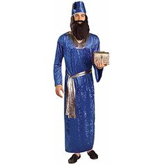 Blue Wiseman Adult Costume Forum Novelties http://www.amazon.com/dp/B0087UJ664/ref=cm_sw_r_pi_dp_ZsYlub1C6XT9X
