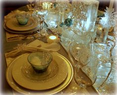 Table Aglow by dining delight, via Flickr