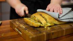 Nøttestek – vegansk julestek Vegetarian Christmas Dinner, Curry, Bread, Diet, Vegan, Recipes, Food, Christmas Dinners, Alternative