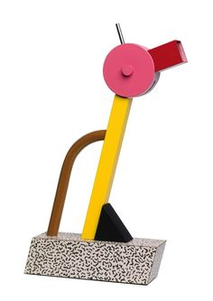 Tahiti lamp by Ettore Sottsass, founder of the Memphis Group from Milano