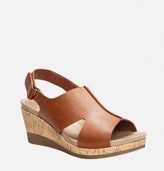 Gianna Slingback Wedge Sandal,