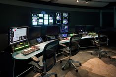 Creating Space for New Technology - Technical furniture for Broadcast, Video Production, Post-Production Edit, Security, Process Control and Dispatch   TBC Consoles