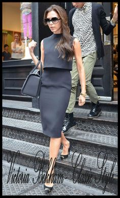 #VictoriaBeckham 3 Punto: Il Proprio #Stile. Lo Stile #Classico Guarda il Blog di #WhatsHappeningCate? posto dietro questo pin perché lì troverai molti più esempi!  Step 3: The Own #Style. #Classic Style Watch the blog of What's Happening, Cate? behind this pin, because there are more examples! #WHCate