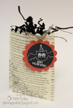 Halloween Treat Bag by LorriHeiling - Cards and Paper Crafts at Splitcoaststampers